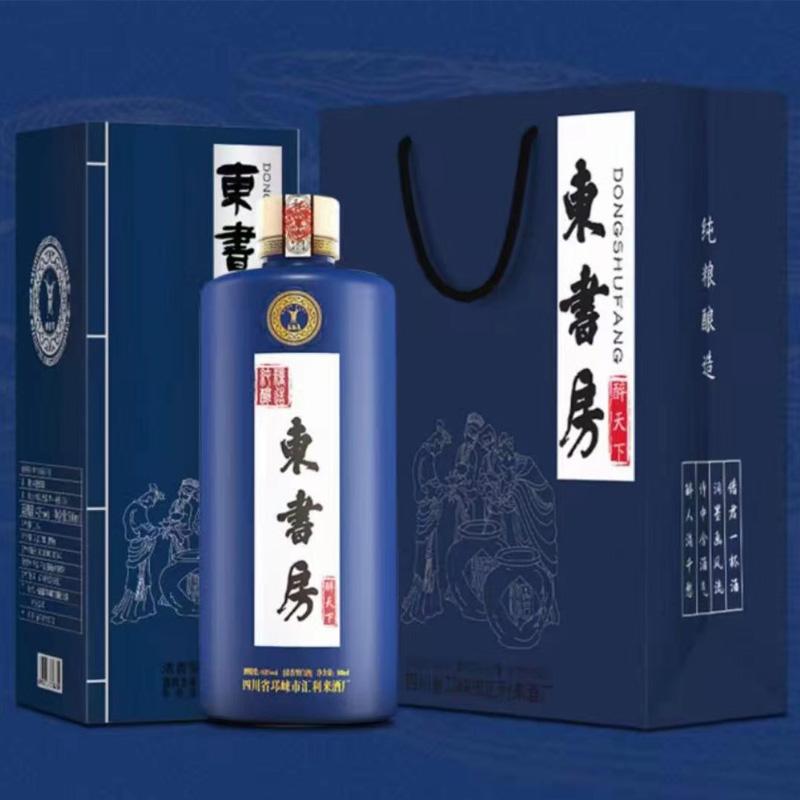 【优个会员酒馆】东书房 醉天下 浓香型42度 纯粮白酒 整箱装 500ml×6瓶