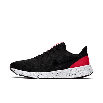 Nike 耐克男鞋跑鞋 REVOLUTION 5男子跑步鞋轻盈缓震舒适 BQ3204-003 黑/媒黑/大学红