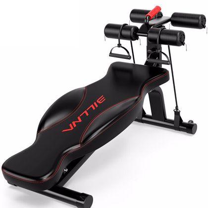 比纳 专供仰卧板 仰卧起坐健身器材家用多功能哑铃凳男士健腹器