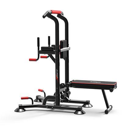 直销多功能单双杠架 单杠家用健身器材 跨境专供引体向上器