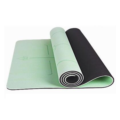 【优个精选】三梵瑜伽垫 加宽80cm加厚经济垫tpe 双面防滑耐用 环保无味 抹茶绿 黑色