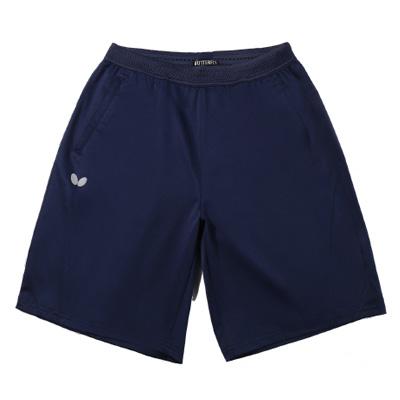 蝴蝶Butterfly BWS-329-05 乒乓球短裤运动中裤 速干轻量 深蓝款