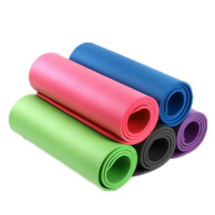 奔酷瑜伽垫初学者健身加厚加宽加长防滑瑜珈垫送绑带送网包