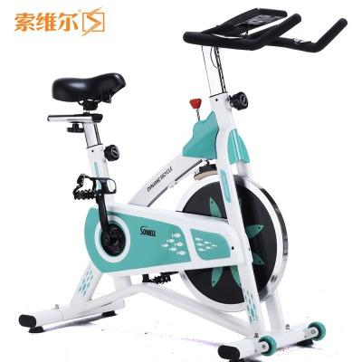 【優個精選】索維爾 SW-D11靜音動感單車健身器材家用腳踏運動自行車室內減肥瘦身健身車 綠色