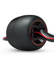 【优个精选】索维尔 SW-91X回弹健腹轮静音巨轮腹肌轮锻炼运动健身器材家用收腹健腹器减肚子