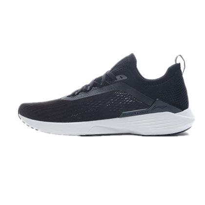 李宁跑步鞋 超轻17代 ARBQ003-3 男 标准黑(轻灵反光,步步轻心)