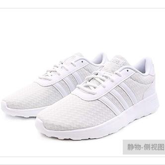 阿迪达斯休闲小白鞋女2020夏季新品轻便透气耐磨运动跑步鞋EG3295 NEO