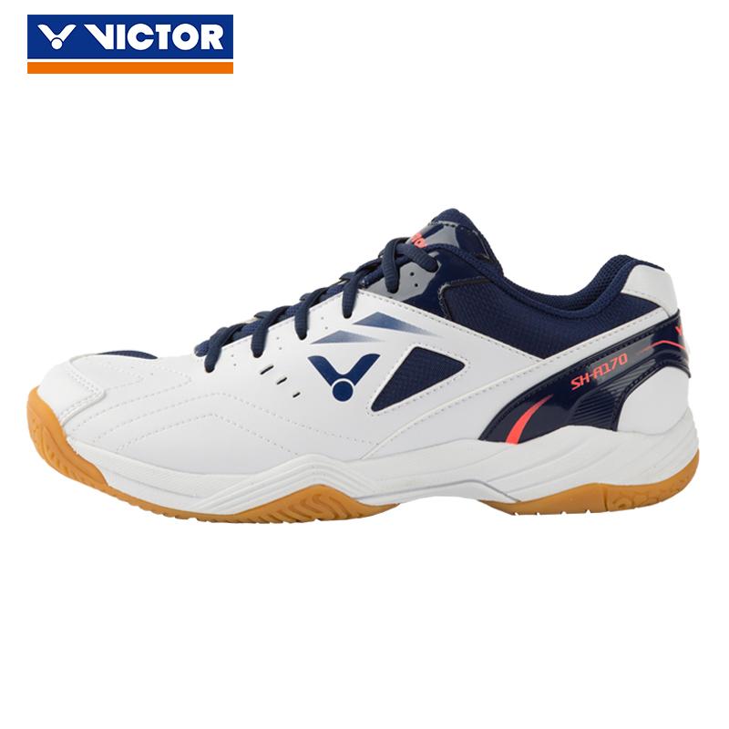 胜利VICTOR 羽毛球鞋 男女鞋运动鞋透气防滑耐磨 SH-A170/AB 白/藏青