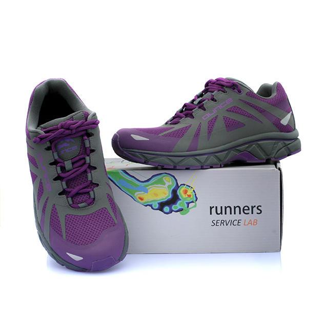 OUNCE遨游仕 R9男女专业公路跑鞋  耐磨防滑越野跑鞋 紫色