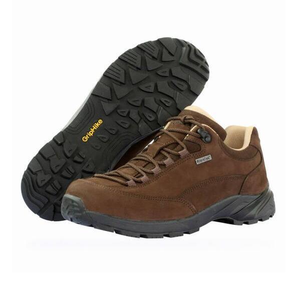 OUNCE遨游仕M6 低帮轻装徒步鞋 户外登山鞋 透气防水 棕色