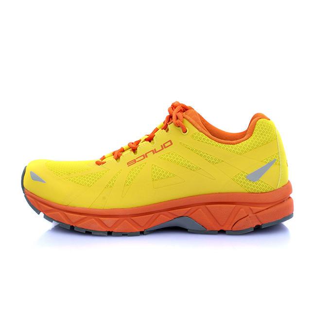 OUNCE遨游仕 R9男女专业公路跑鞋 耐磨防滑越野跑鞋 黄色