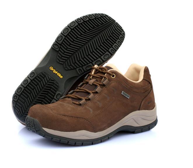OUNCE遨游仕L12男女款低帮休闲徒步健行鞋牛皮防水户外休闲鞋