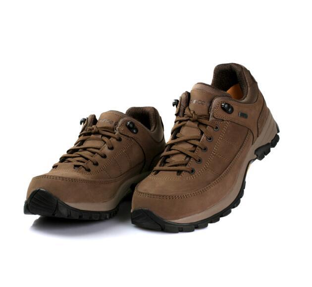 OUNCE遨游仕L2男女款低帮徒步旅行鞋防水速干户外鞋 棕色