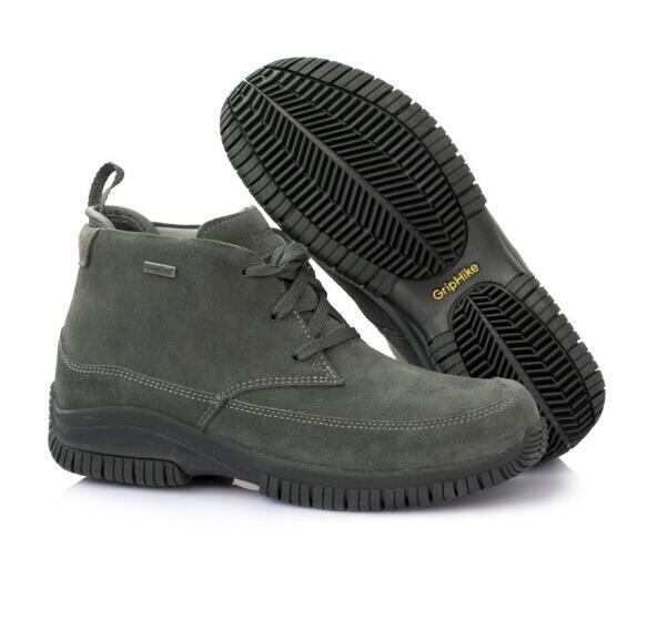 OUNCE遨游仕L3 男女款中帮商旅徒步鞋 专业登山鞋 深灰色62409