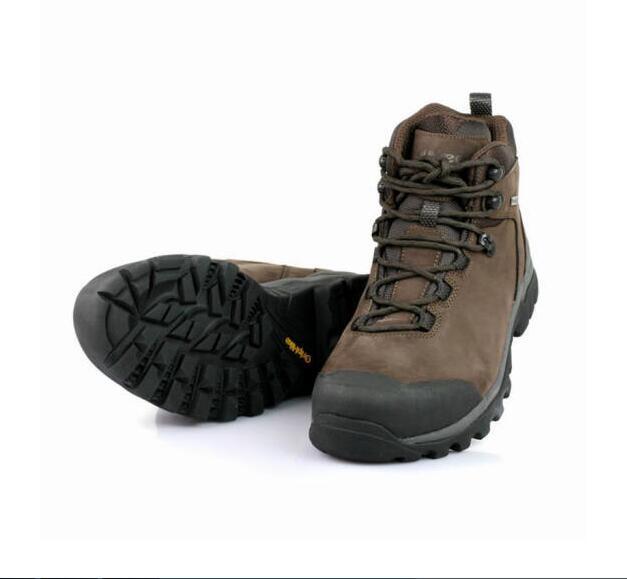 OUNCE遨游仕T1 高帮全地形远足户外防水登山鞋 咖啡色