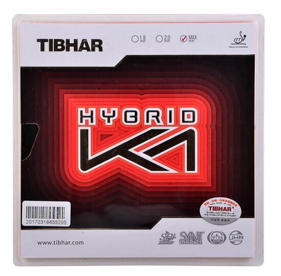 挺拔TIBHAR乒乓球套胶 混动K1(HYBRID K1)粘性内能乒乓球套