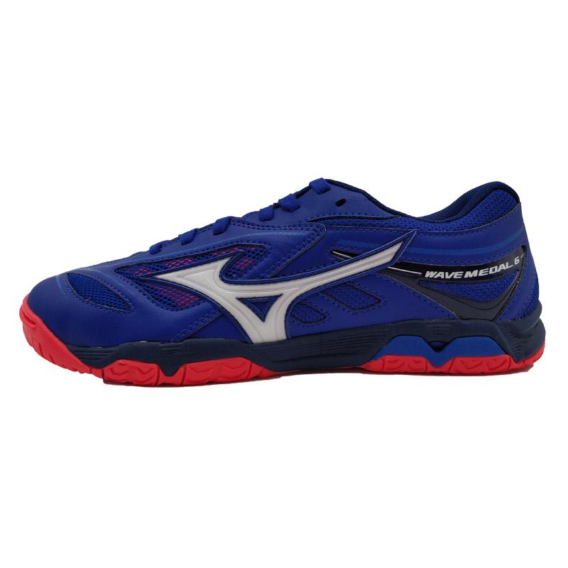 美津濃Mizuno WAVE MEDAL6 81GA191520 專業乒乓球鞋 運動鞋 男女款