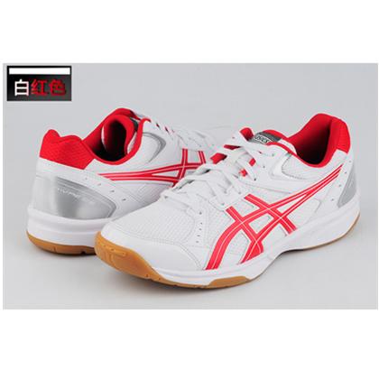 亚瑟士ASICS新款专业乒乓球鞋1053A034 红色 男 女运动鞋训练鞋