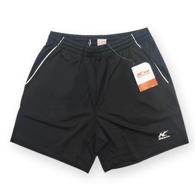 KASON凯胜羽毛球短裤 FAPF029-2男款黑色比赛短裤