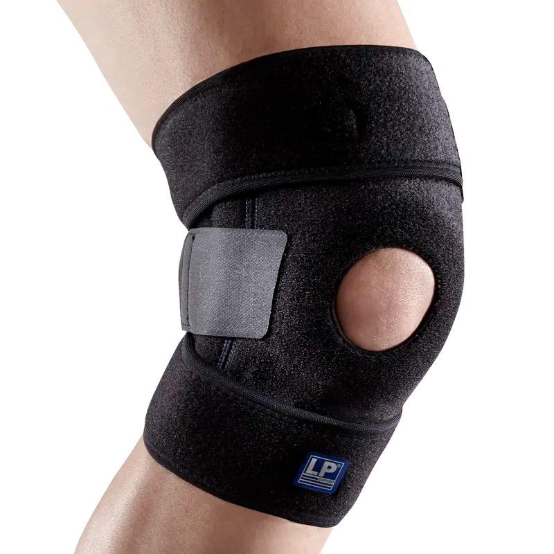 LP欧比 733KM 透气双弹簧支撑型膝部护具护膝 普通码护膝 加大码护膝