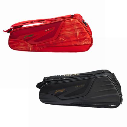 李宁羽毛球包 ABJN072-2红色款 六支装(19年国家队新款战包)