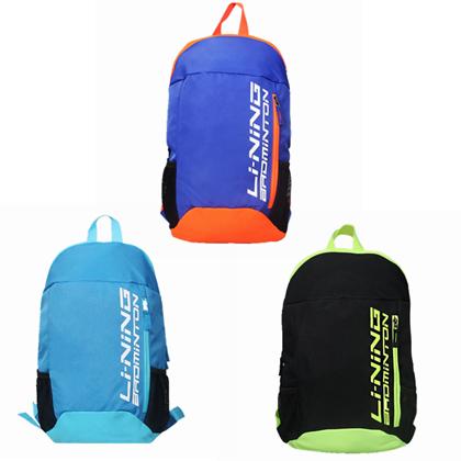 李宁双肩背包 ABSP106羽毛球双肩背包(轻量化设计,方便携带)