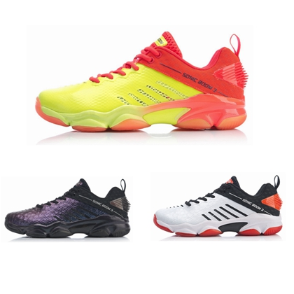 李宁羽毛球球鞋 AYZP009(音爆3.0)男款专业羽毛球鞋(升级款,更透气)