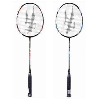 凯胜kason羽毛球拍 Force T110 黑红/黑蓝 初学耐用双打对拍 两支装球拍(已穿线)