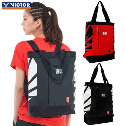勝利VICTOR BRCO201 紅色/黑色 羽毛球單肩雙肓背包 中國公開賽紀念包