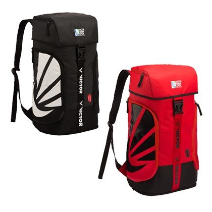 胜利VICTOR 双肩背包 BRCO200 红色/黑色 羽毛球双肩背包 中国公开赛纪念包
