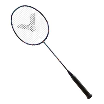 胜利VICTOR 羽毛球拍 TK15B星钻蓝 (突击15B/TK-15B)  中端进攻型球拍 好上手