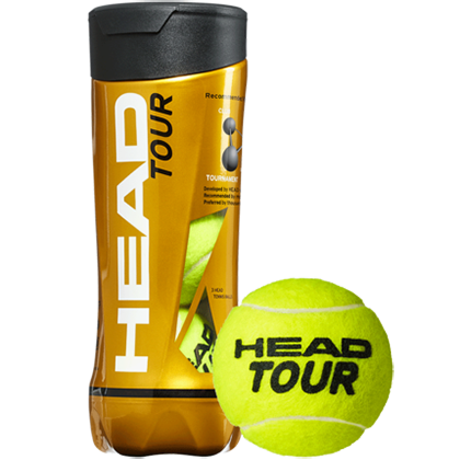 HEAD海德黄金球2019新款TOUR黄金球 CTA比赛用球单人初学网球H570703