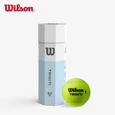 Wilson维尔胜 全场地专业网球 3只装环保纸盒包装Triniti 3 Ball