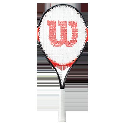 WILSON维尔胜网球拍 (W200800)ROGER FEDERER TNS RKT 25 青少年入门球拍 轻量大拍面