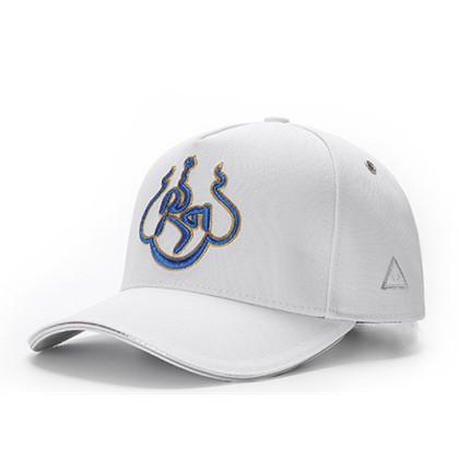 GC岗措棒球帽 喜马拉雅文化原创品牌 蓝色 莲花 男女通用款户外帽子棒球帽 帽围可调节!