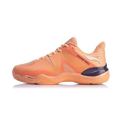 李宁羽毛球鞋 AYZQ001-1(音爆2020)男款第三代音爆战靴 蜜瓜橙(就是这么帅)