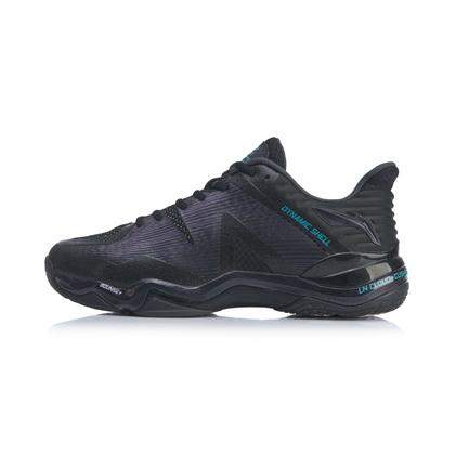 李宁羽毛球鞋 AYZQ001-2(音爆2020)男款第三代音爆战靴 标准黑(就是这么帅)