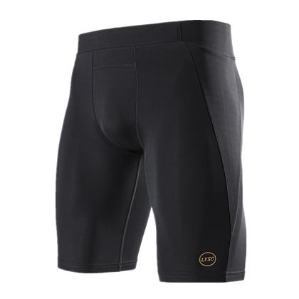 领速男款压缩短裤 LS051907 专业梯度压缩短裤
