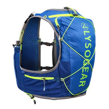 领速越野背包 LS021805 户外运动跑步越野背包,10L装,带两只软水壶
