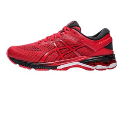 亚瑟士ASICS跑步鞋 KAYANO 26(K26)男跑步鞋 1011A541-600红色 新一代鞋皇跑鞋
