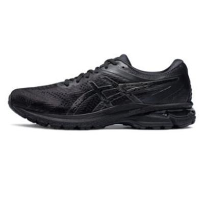 亚瑟士Asics跑步鞋 GT-2000 8慢跑鞋 男 1011A690-001 黑色(次顶级稳定型跑鞋)