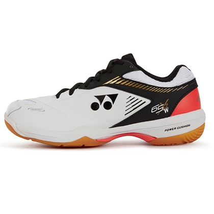 尤尼克斯 YONEX 羽毛球鞋 SHB-65X2WEX 白黑色 专业全能型男女同款球鞋