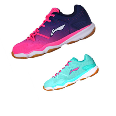 【惊爆价】李宁羽毛球鞋 AYTM062 女款羽毛球训练鞋