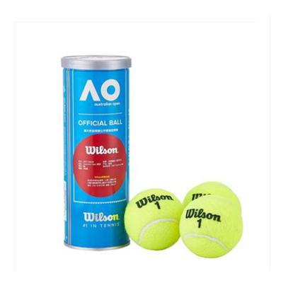 wilson維爾勝正品網球澳網用球 耐用彈性好全能網球1罐3個