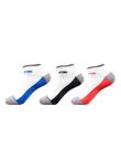 尤尼克斯YONEX 羽毛球短袜 245050BCR女款运动袜/羽毛球袜