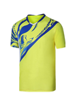 波力Bonny 运动T恤 1CTM19013 男款黄色比赛短袖T恤(闪蝶啸影,迅速反应)