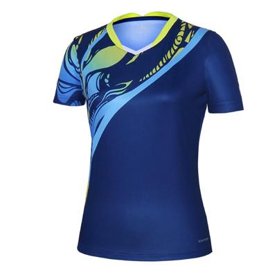 波力Bonny 运动T恤 1CTL19012 女款藏青色比赛短袖T恤(闪蝶啸影,迅速反应)