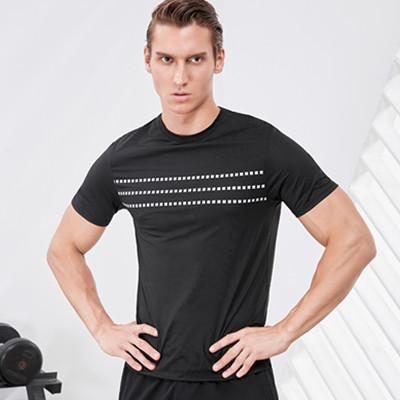 范斯蒂克运动T恤  MA912701 男款黑色运动T恤 (适合健身等运动)