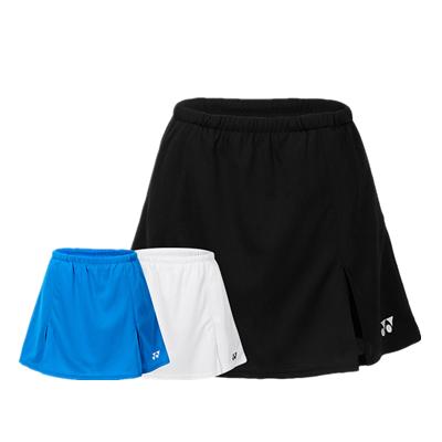 尤尼克斯运动短裙 220140BCR羽毛球短裙/网球短裙速干运动短裙