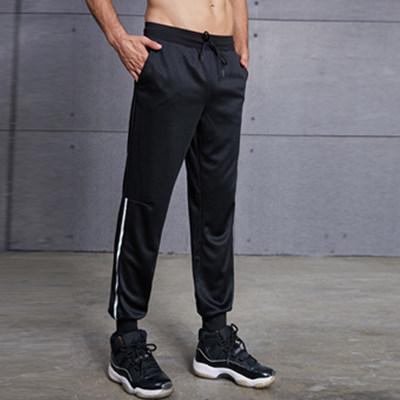 范斯蒂克长裤 MBF9229 黑色束脚长裤,时尚简约